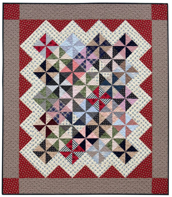Therapy—compliments of your next scrap quilt - Stitch This! The Martingale Blog