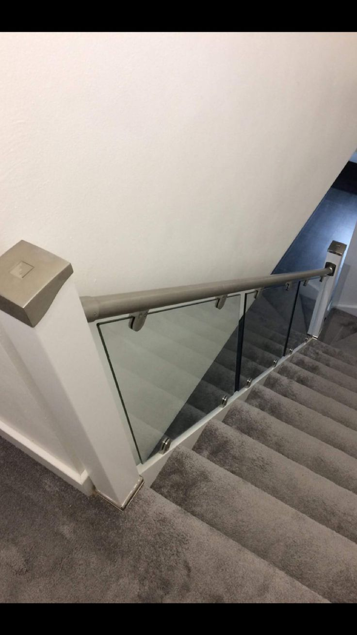 Best Staircase Transformation Using Stairfurb Glass Balustrade 400 x 300