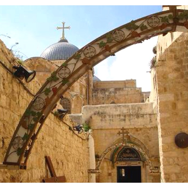 Go to the Holy Land and walk where Jesus walked.