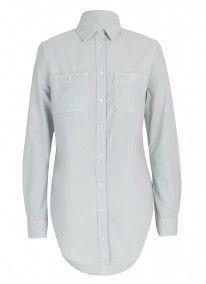 Denim Chambray Shirt Blue