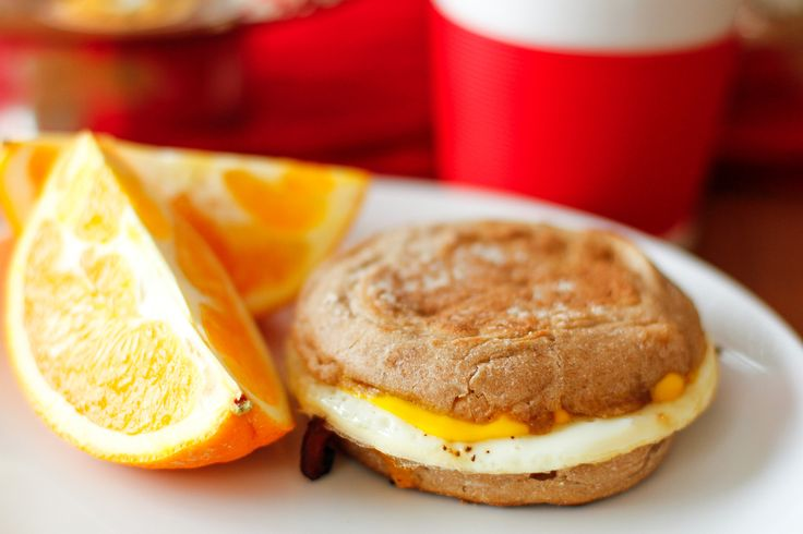 Homemade Egg McMuffin Recipe -- making egg McMuffins at home is a breeze with this inexpensive gadget... My kids ask for breakfast for dinner often, and I'm happy to oblige because they're quick and budget friendly! | via @unsophisticook on unsophisticook.com
