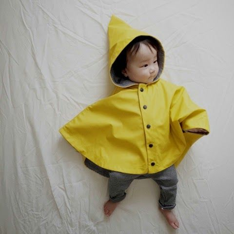 Baby Rain Cape ^ Petit Bateau