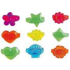 Anda que no son graciosos estos anillitos para niña. En variados colores y formas, el complemento ideal para cualquier piñata. También se pueden usar para rellenar bolsas de regalitos. Y además, son muy económicos. Los puedes ver en nuestra tienda http://www.articulos-fiestas-infantiles.es/rellenos-para-pinatas-regalitos-y-chuches/992-anillos-de-plastico-para-ninas-1u.html#
