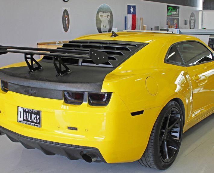 Camaro Carbon Fiber Wrap - Zilla Wraps