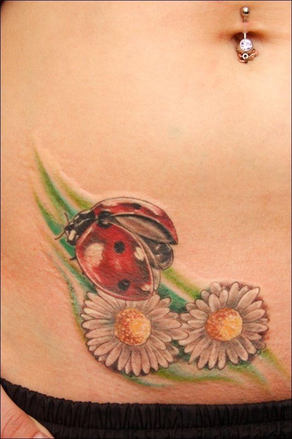 25+ Cute & Amazing Ladybug Tattoo Designs