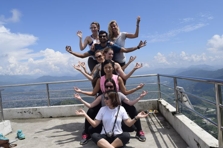 #trek #yoga #photos #asana #postures #people #women #yogini #pokhara #news #ayurveda #hathayoga