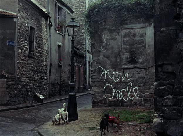 «Мой дядюшка» (Mon oncle), Жак Тати, Франция — Италия, 1958