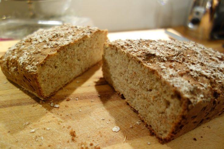 Nybakt brød til frokost