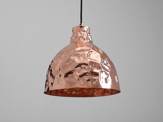 Lampa wisząca Ador Stout, miedziany
