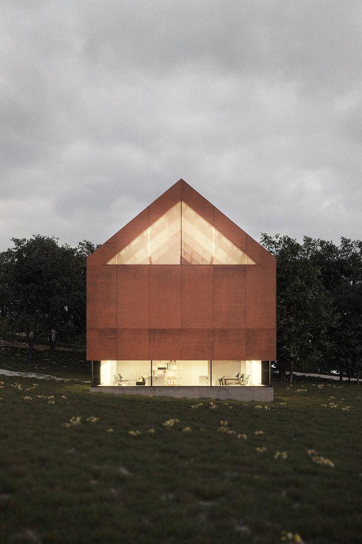 Architecture Studio, Kilrea / McGarry-Moon Architects – nowoczesna STODOŁA | wnętrza & DESIGN | projekty DOMÓW | dom STODOŁA