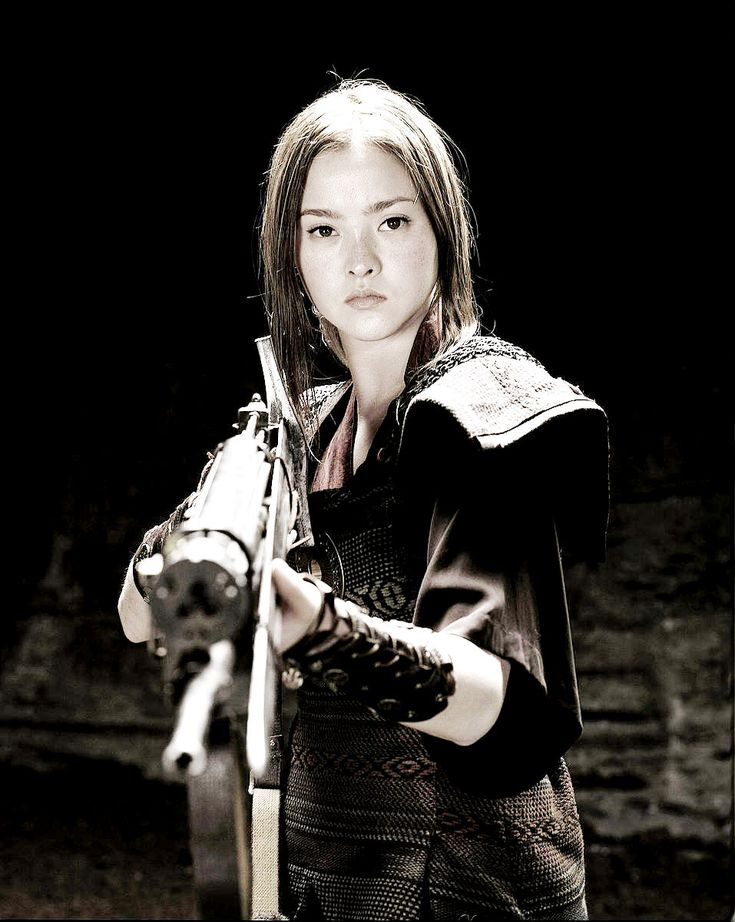 "Corporal Valerie Duval ""Devon Aoki"" The Mutant Chronicles (2009)"