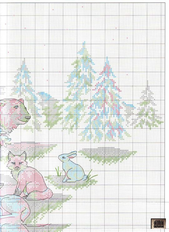 Days Of Olde Christmas Tree Skirt Kit Counted Cross Stitch By Dimensions