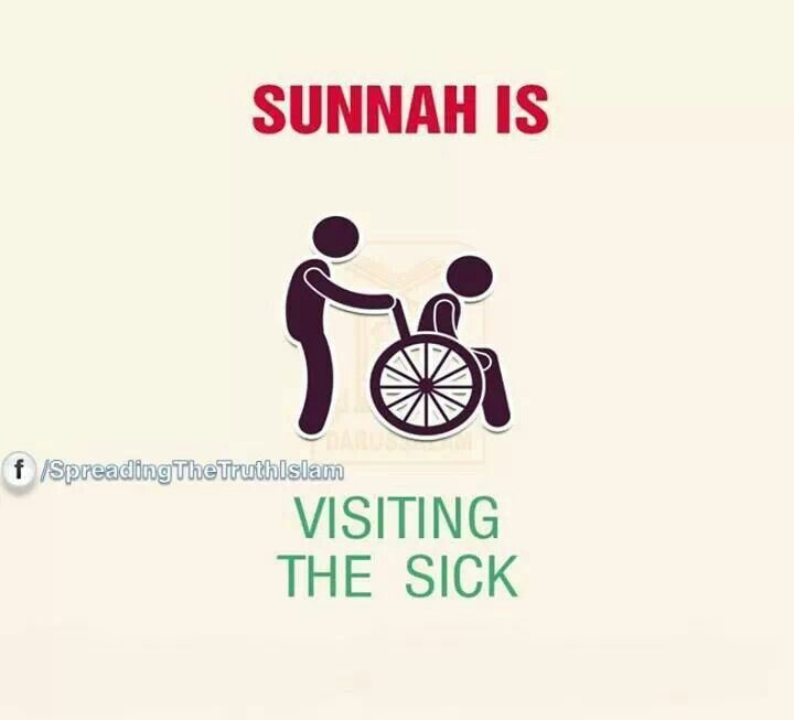 Sunnah; visiting the sick