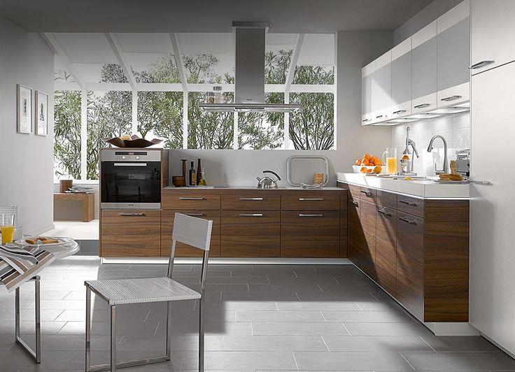 Walnut Compact Kitchen Design 1,300×940 Pixels   Kitchen   Pinterest   Compact  Kitchen, Kitchen Sets And Kitchens