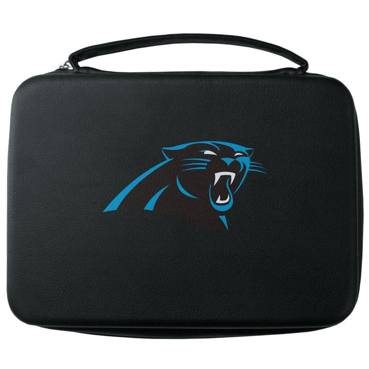"""Checkout our #LicensedGear products FREE SHIPPING + 10% OFF Coupon Code """"Official"""" Carolina Panthers GoPro Carrying Case - Officially licensed NFL product Licensee: Siskiyou Buckle Water resistant case and zipper system Fits GoPro 1,2,3,3+ and 4 Insert fits camera, housings, SD memory card, battery, power plug, remote control, battery pack and LCD Carolina Panthers large printed logo - Price: $22.00. Buy now at https://officiallylicensedgear.com/carolina-panthers-gopro-carrying-case-fgp170"""