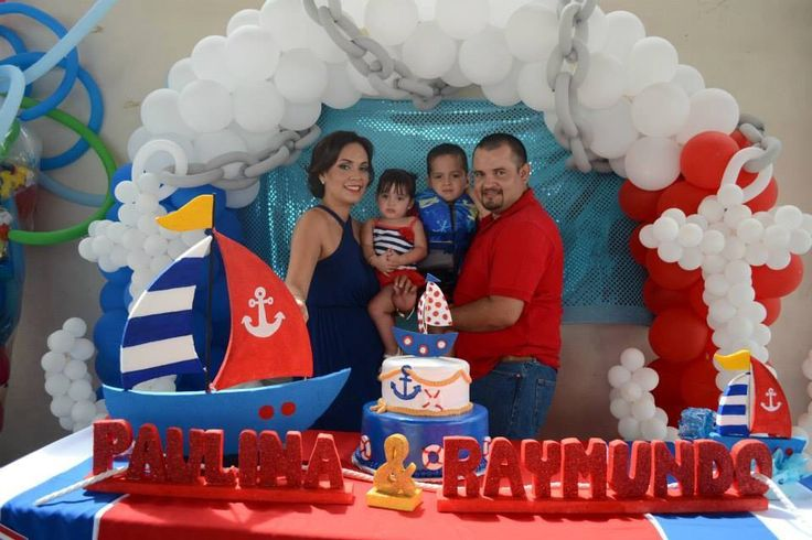 1000 images about decoracion eventos en pinterest mesas for Decoracion nautica infantil