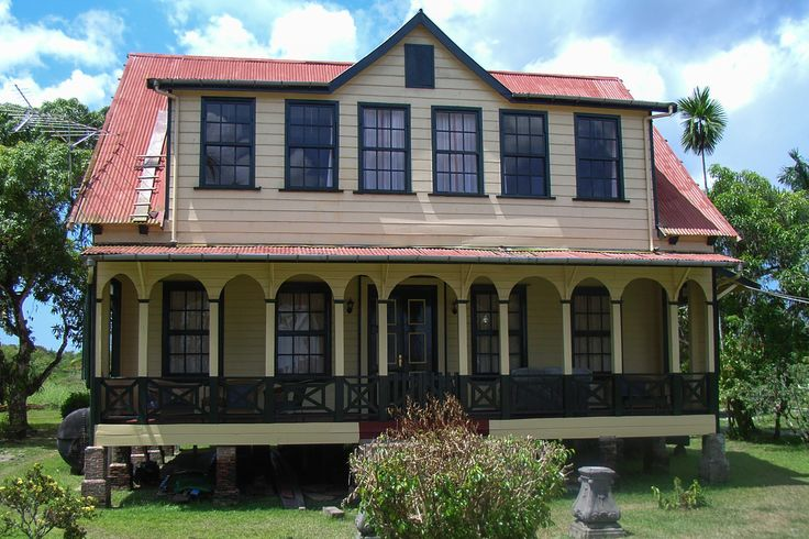220 best images about suriname south america on for Traditional american architecture