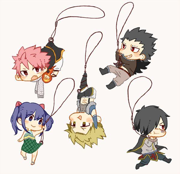 Awww!!! (Fairy Tail: Natsu, Gajeel, Wendy, Sting, Rogue ...
