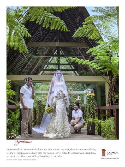 Our newly wedding campaign 2015 for wanasmara chapel komaneka at bisma, ubud - bali indonesia