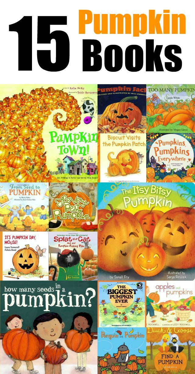 To get Sawyer ready for the Pumpkin Patch we've been reading lots of Pumpkin Children's Books! Here's our favorite books about pumpkins!