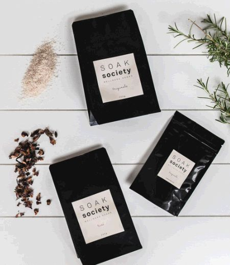 Recently I started seeing a naturopath for some health concerns I have and have been introduced to the wonders and benefits of salt baths. Around the same time, Soak Society came on my radar and oh my gosh, what a deliciously luxurious treat these soaks are!
