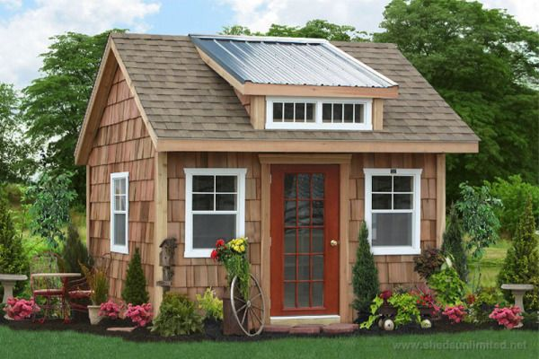 Buy Sheds Unlimited Garden Storage Sheds in PA and have them delivered to NJ, NY, CT, DE, MD, VA, WV. We specialize in building the best storage sheds in PA