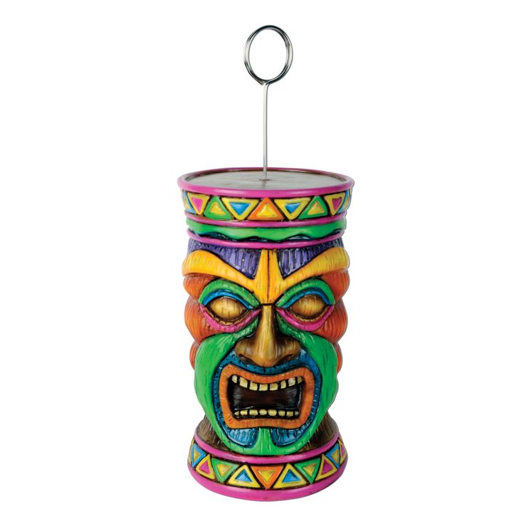 Tiki Photo/Balloon Holder