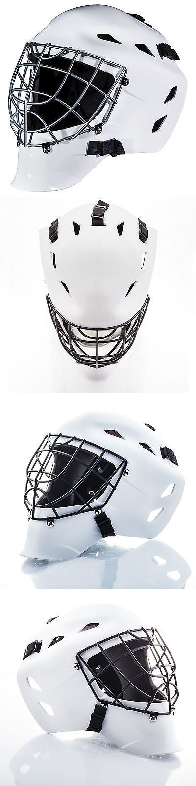 Other Hockey Clothing and Gear 165934: Franklin Gfm 1500 White Street Hockey Goalie Face Mask (Ages 6-12) BUY IT NOW ONLY: $49.99