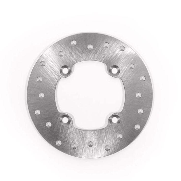 2007 2008 2009 2010 2011 2012 2013 Can-Am Outlander XT 400 Rear Brake Rotor Disc, Silver stainless steel