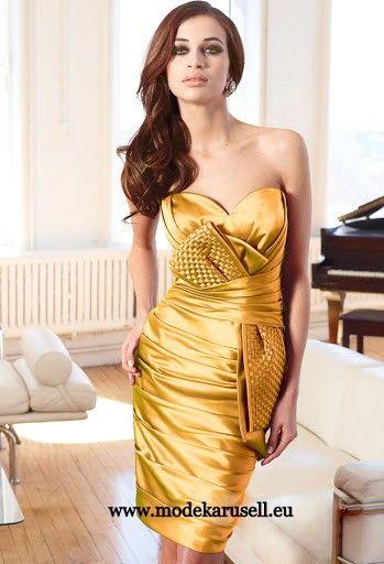 Abendkleid - Cocktailkleid in Gold