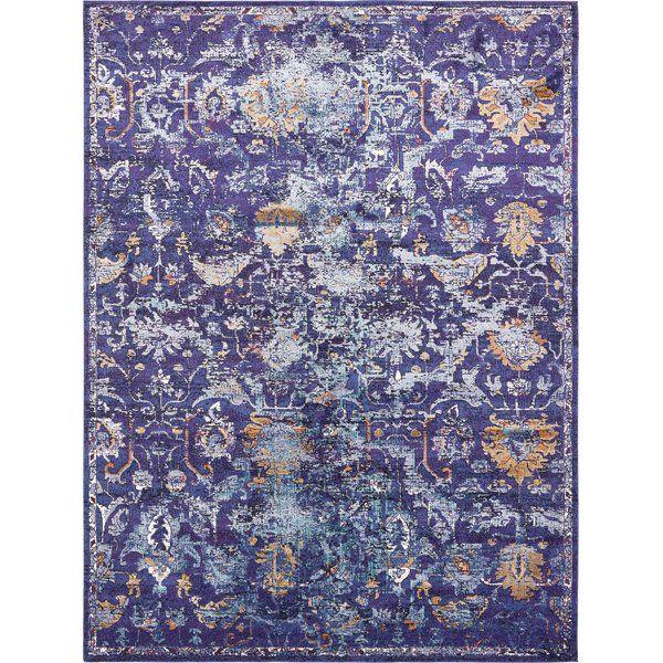 Koury Oriental Navy Blue Beige Tan Area Rug Unique Loom Floral Area Rugs Area Rugs