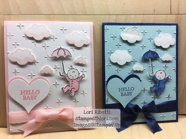 Stampin Up Moon Baby