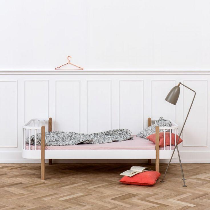 designstuff offers a range of Scandinavian designed furniture including this stunning Scandinavian designed single bed in oak and wood by Oliver Furniture.