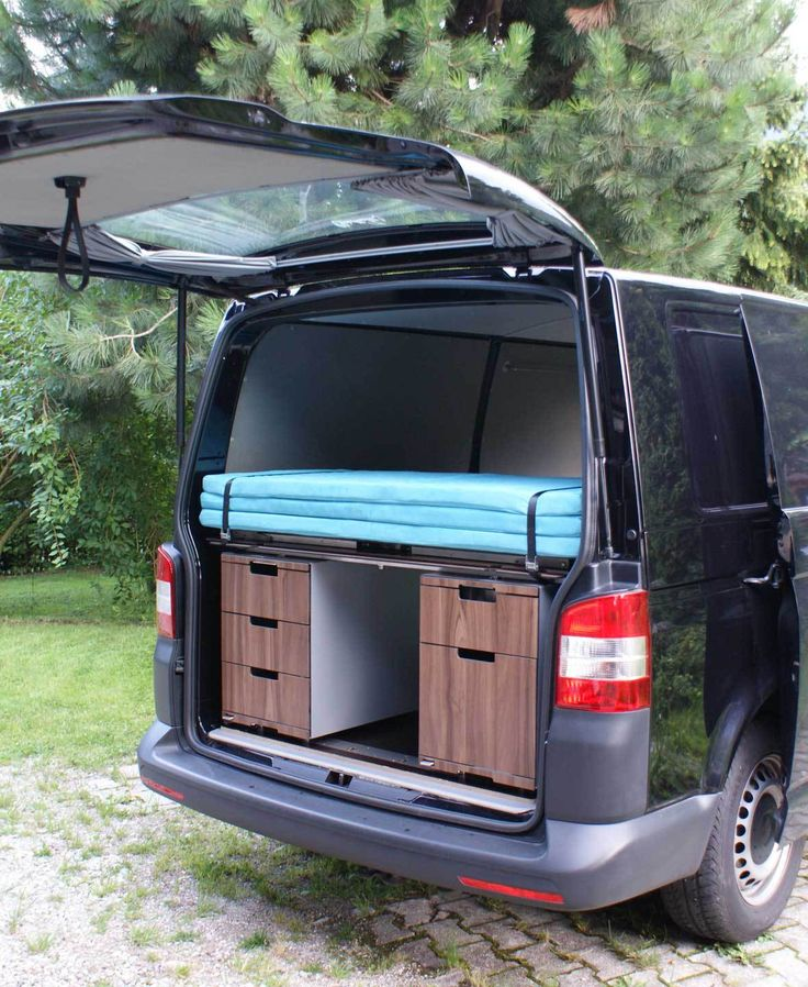 bett module vw t5 vwausbau camping zubeh r camping. Black Bedroom Furniture Sets. Home Design Ideas