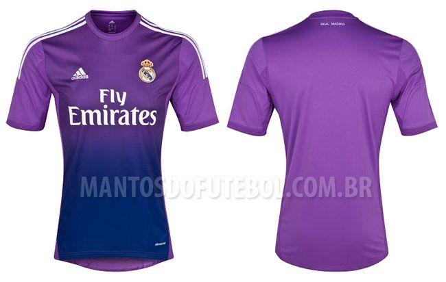 Camisa de goleiro do Real Madrid 2013-2014