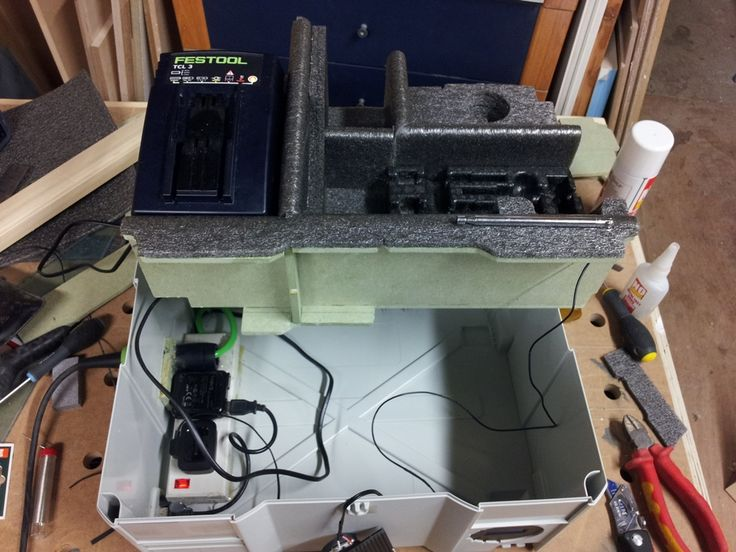 Custom Drill Systainer / Charging Station / Site Radio