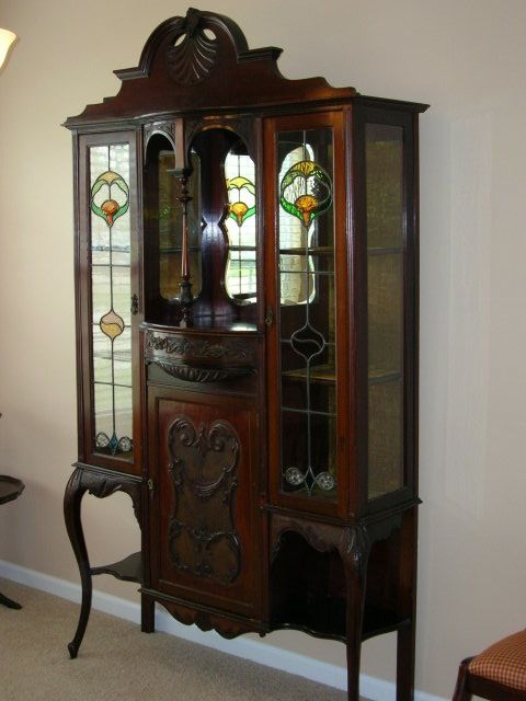 Beautiful Victorian China Cabinet I Love This With The