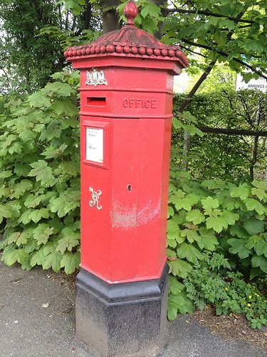 Post Box, Ilkley, West Yorkshire, UK [2012]