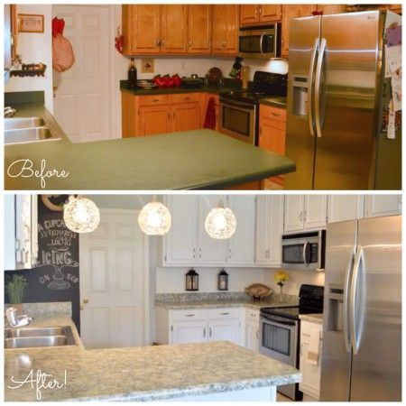 ... paint and Sicilian Sand granite countertop paint all for less than $