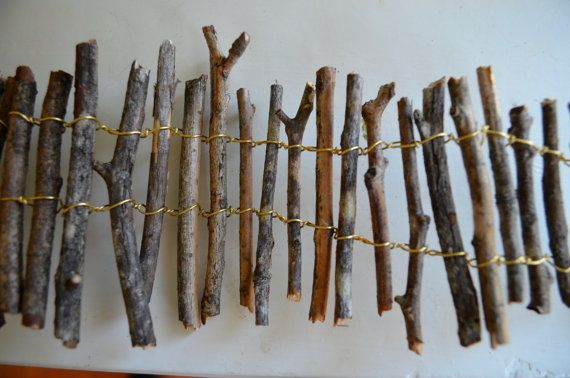 Hey, I found this really awesome Etsy listing at http://www.etsy.com/listing/119699585/miniature-twig-fence
