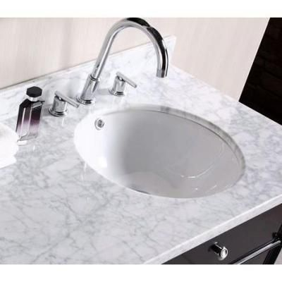 American Imaginations Round Undermount Bathroom Sink in White-AI-13-364 -  The