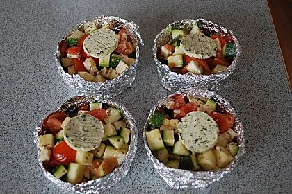 Gemüsepäckchen für den Grill 9