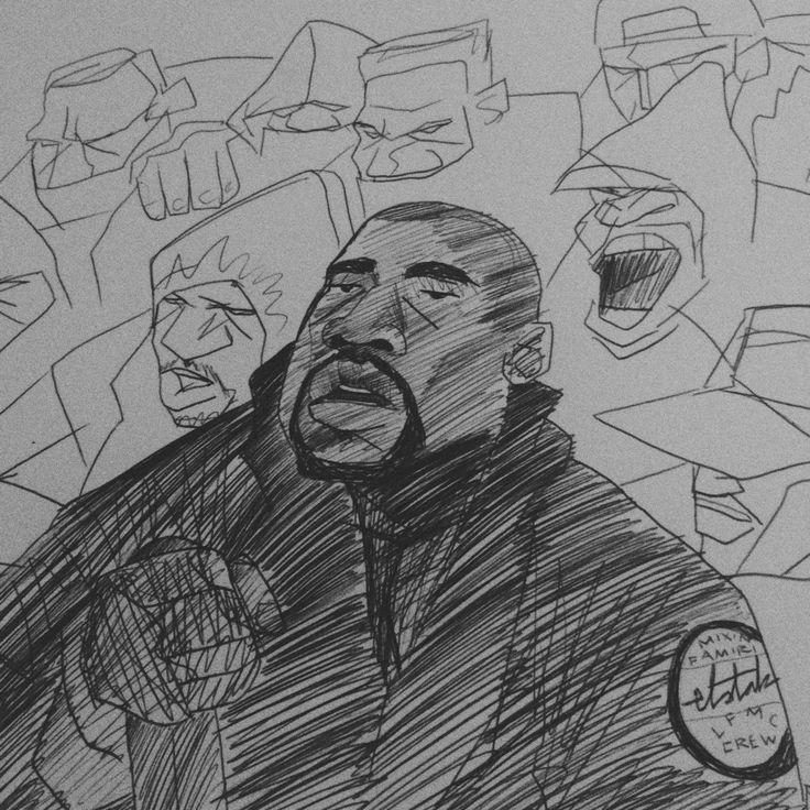 Brian Elstak is een nederlandse illustrator en grafisch vormgever. zijn werk is heel actueel dit komt omdat hij alles tekent met fineliners. hij richt zich wel vooral op zwarte cultuur. maar zodra er iets gebeurt is dat hij intressant vind heeft hij binnen no time een tekening gemaakt om beeldend zijn mening te geven.