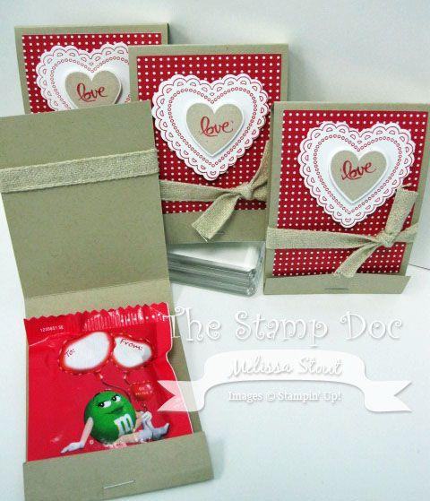 Valentine Matchbook Treats