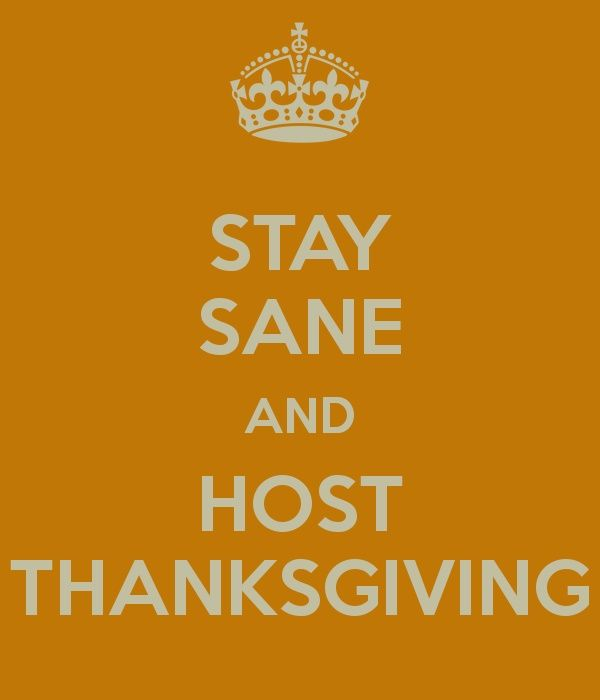 Stay sane AND host Thanksgiving with these 12 tips! #thanksgiving #hosting