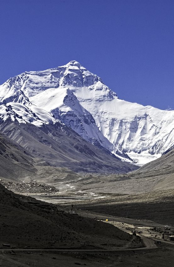 """After traveling a rough road through a narrow canyon you reach Mt Everest in Tibet. This is the moment when you pinch yourself and say, """"am I really here?"""""""