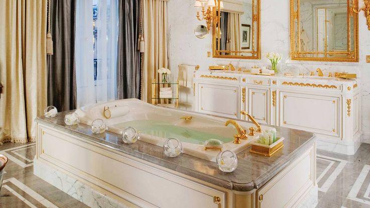 Baño de la Suite Presidencial -  Four Seasons Hotel George V - Paris