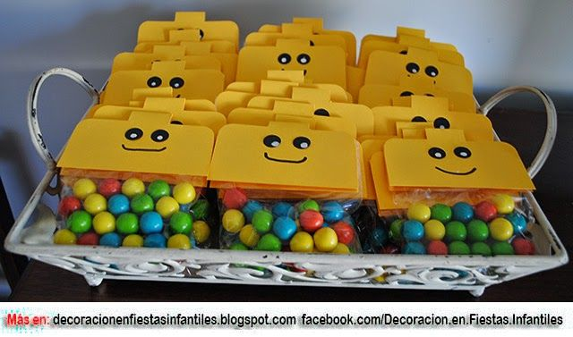 FIESTA TEMÁTICA LEGO