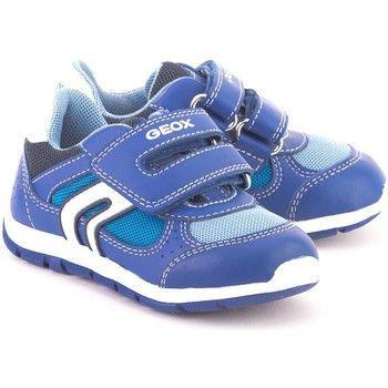 hippe Geox baby shaax jongens sneakers (Blauw)