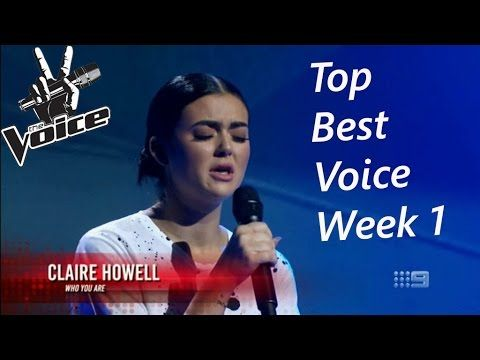 The Voice Australia 2016 | Top Best Blind Auditions Week 1 - YouTube